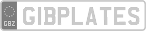 GibPlates White Logo